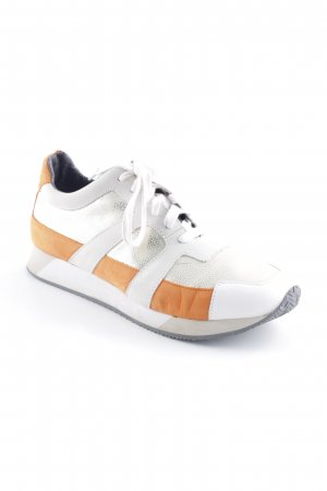 Marc Cain Schnürsneaker goldfarben-rostrot Casual-Look