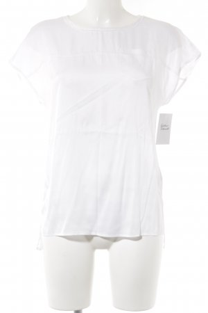 Marc Cain Zijden blouse wit casual uitstraling