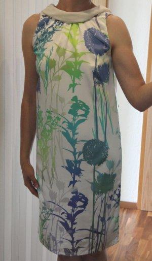 MARC CAIN Seidenkleid mit floralem Muster, Gr. 36/N2 - NEU
