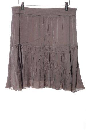 Marc Cain Silk Skirt brown casual look