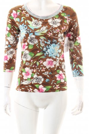 Marc Cain Shirt florales Muster extravaganter Stil