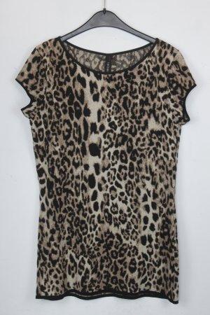 Marc Cain Shirt Longshirt Gr. 40 Leo Muster NEU (18/5/147/R)