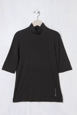 Marc Cain Camisa de cuello de tortuga negro