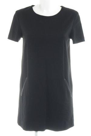 Marc Cain Shirtkleid schwarz Casual-Look