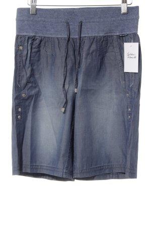 Marc Cain Shorts kornblumenblau Casual-Look
