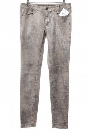 Marc Cain Skinny Jeans beige Casual-Look