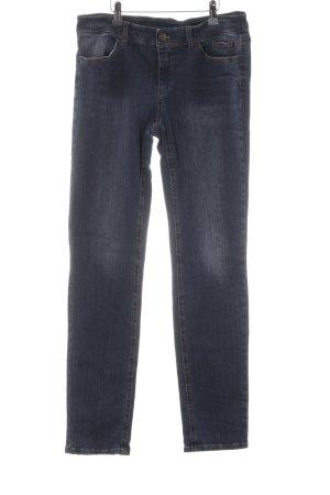 Marc Cain Jeans skinny blu-blu scuro Colore sfumato stile jeans