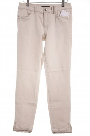 Marc Cain Skinny Jeans creme Casual-Look