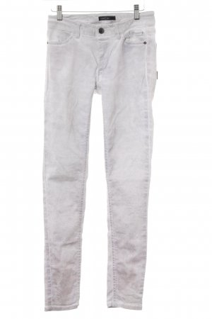 Marc Cain Skinny Jeans hellgrau-hellrosa Animalmuster Casual-Look