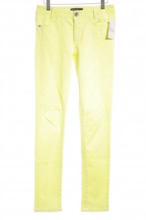 Marc Cain Skinny Jeans neongelb Casual-Look
