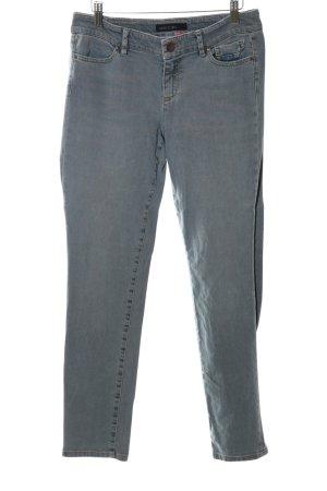 Marc Cain Jeans slim gris clair style décontracté