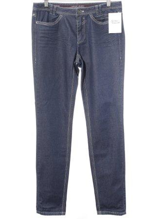 Marc Cain Slim Jeans dunkelblau Casual-Look