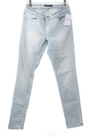 Marc Cain Slim Jeans hellblau-wollweiß Casual-Look