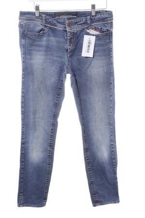 Marc Cain Slim Jeans stahlblau-kornblumenblau Casual-Look