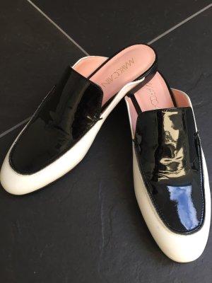 Marc Cain Pantofola bianco-nero