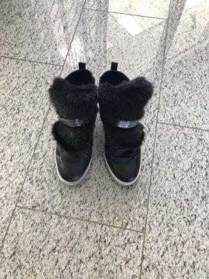 Marc Cain Sneaker nero-bianco Pelle