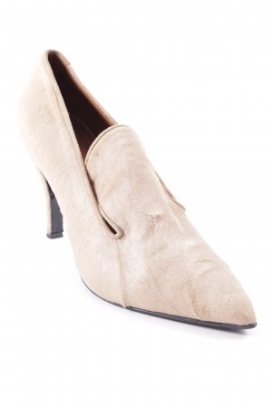 Marc Cain Spitz-Pumps nude Street-Fashion-Look