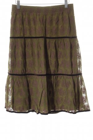 Marc Cain Lace Skirt multicolored romantic style