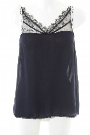 Marc Cain Lace Top dark blue simple style