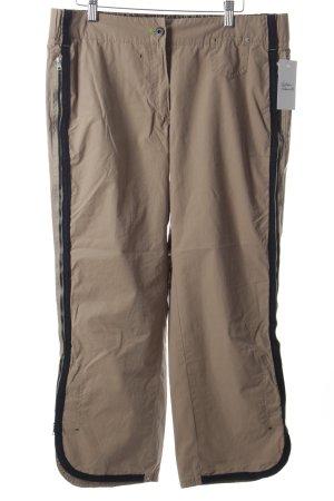 Marc Cain Sport 3/4-Hose beige-schwarz sportlicher Stil