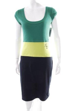 Marc Cain Sport Shirtkleid mehrfarbig Logoprint