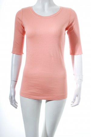 Marc Cain Sport Strickshirt apricot Casual-Look