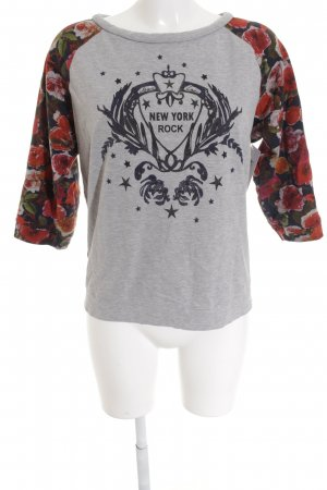 Marc Cain Sport Sweatshirt Blumenmuster Casual-Look
