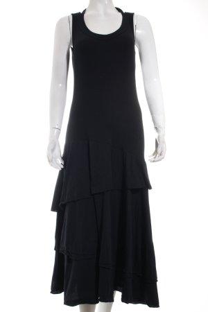 Marc Cain Sports Kleid schwarz extravaganter Stil