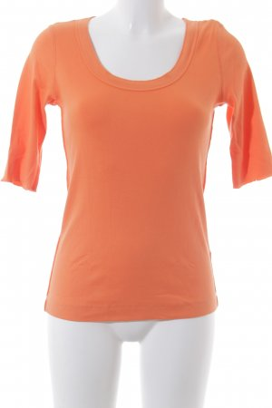 Marc Cain Sports Rippshirt orange Casual-Look