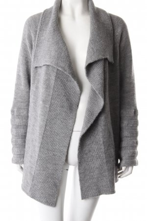Marc Cain Sports Strickjacke grau