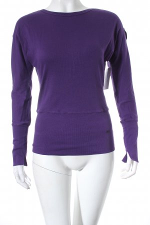 Marc Cain Sports Sweatshirt lila Casual-Look