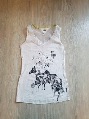 Marc Cain T-shirt bianco-nero