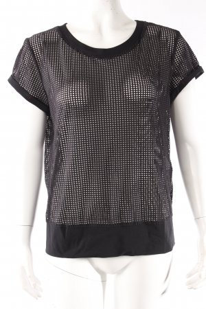 Marc Cain Sports T-Shirt schwarz