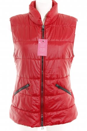 Marc Cain Steppweste rot Casual-Look
