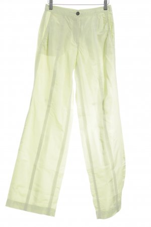 Marc Cain Stoffhose limettengelb Casual-Look