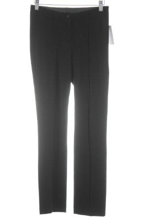 Marc Cain Stoffhose schwarz minimalistischer Stil