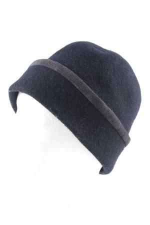 Marc Cain Sombrero de tela negro look casual