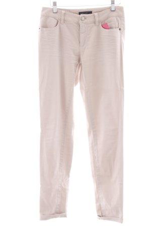 Marc Cain Jeans a gamba dritta rosa antico stile casual