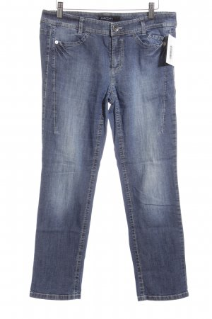 Marc Cain Straight-Leg Jeans blau Casual-Look