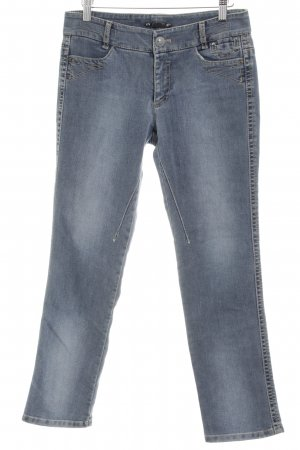 Marc Cain Straight-Leg Jeans neonblau Casual-Look