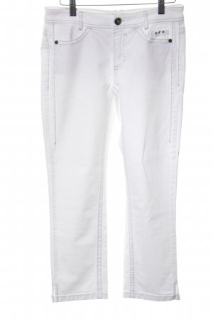 Marc Cain Straight-Leg Jeans weiß Casual-Look
