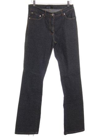 Marc Cain Straight-Leg Jeans grau Casual-Look