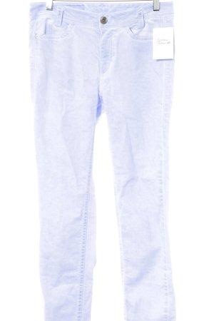 Marc Cain Straight-Leg Jeans helllila Washed-Optik