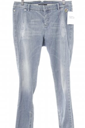 Marc Cain Straight-Leg Jeans himmelblau Washed-Optik
