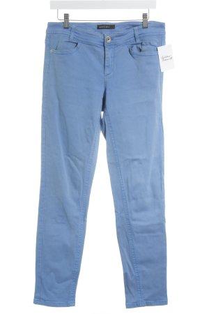 Marc Cain Straight-Leg Jeans kornblumenblau Brit-Look
