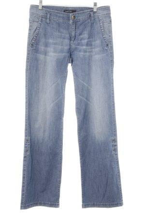 Marc Cain Straight-Leg Jeans kornblumenblau Casual-Look