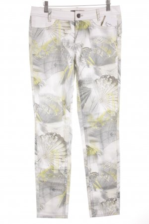 Marc Cain Straight-Leg Jeans Mustermix extravaganter Stil