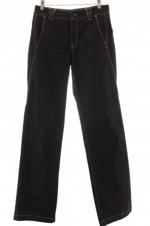 Marc Cain Straight-Leg Jeans schwarz Casual-Look