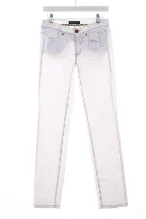 Marc Cain Straight-Leg Jeans weiß klassischer Stil