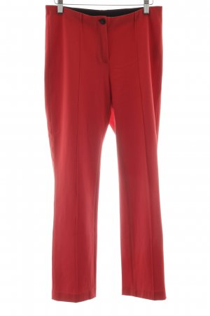 Marc Cain Stretchhose rot Business-Look